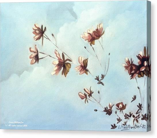 Japonicas Canvas Print