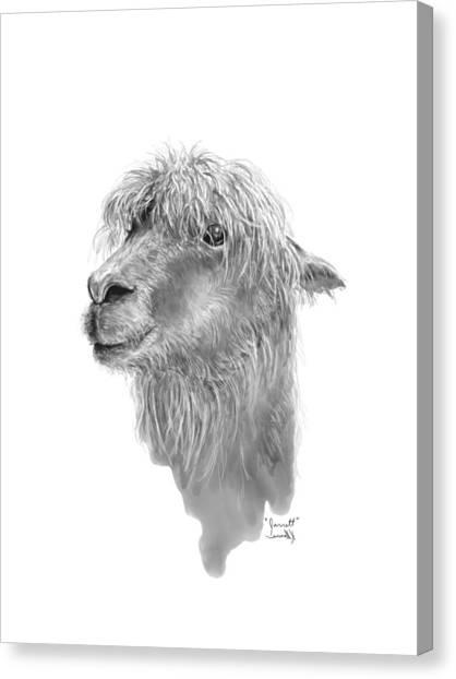 Canvas Print - Jarrett by K Llamas