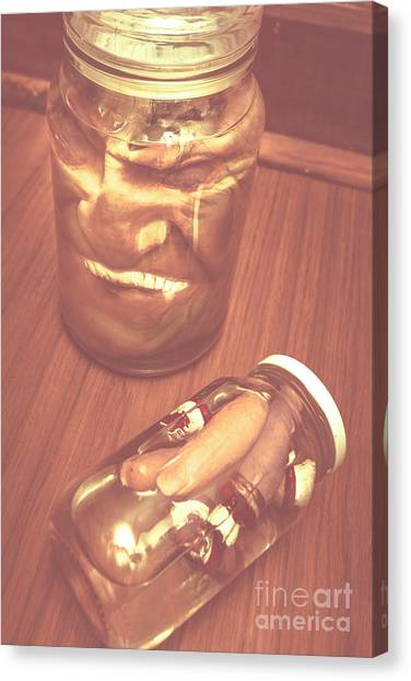 Decoration Canvas Print - Jars Of Evil Monsters by Jorgo Photography - Wall Art Gallery