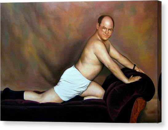 Jason Alexander As George Costanza Canvas Print