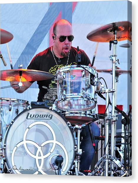 Jason Bonham Canvas Print