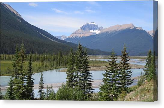 Jasper Alberta Canvas Print