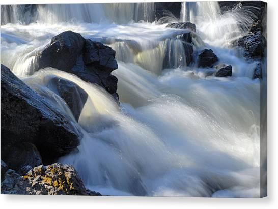 Jasper Falls Closeup Canvas Print