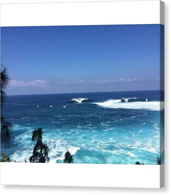 Jaws Canvas Print - #jaws #peahi #surfing 🌊🏄 by Laura Behm