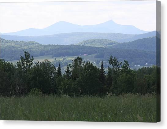 Jay Peak From Irasburg Canvas Print