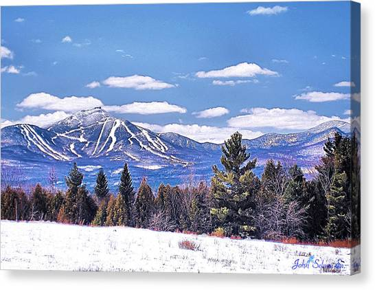 Jay Peak Canvas Print
