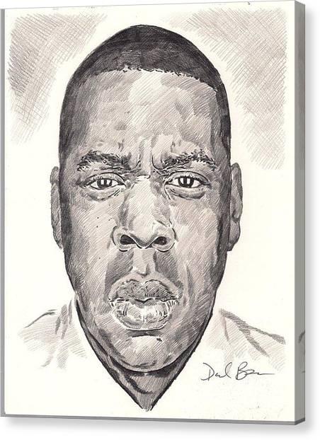 Jay-z Canvas Print by Darryl Barnes
