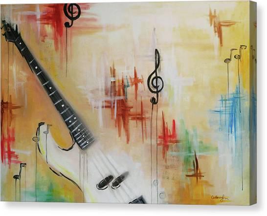 Jazz 001 Canvas Print