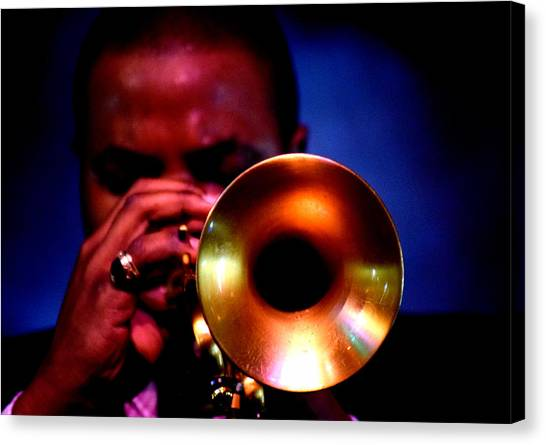 Jazz 11 Canvas Print