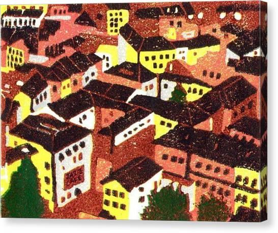 Jazz Cafe Canvas Print