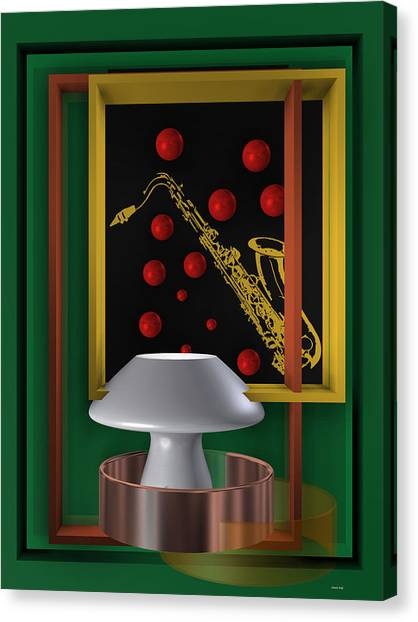 Jazz Club Canvas Print