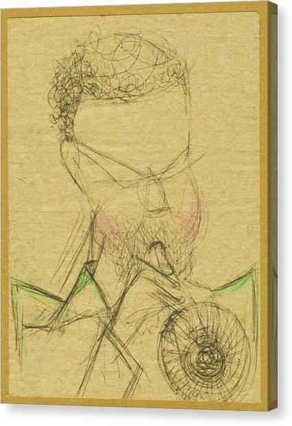 Jazz Man Canvas Print