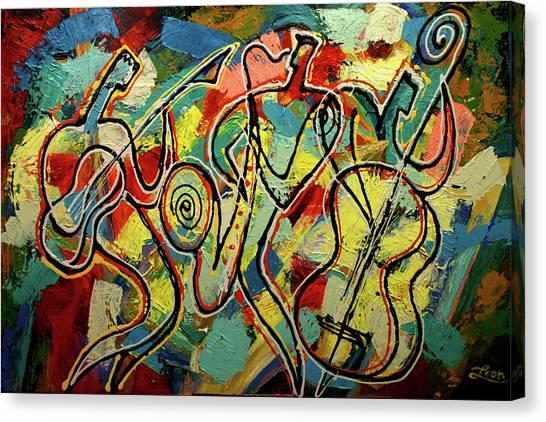 Jazz Rock Canvas Print