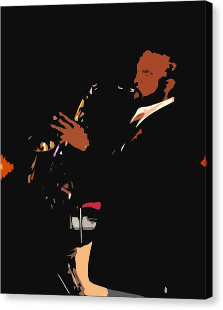 Jazzy Canvas Print by James Granberry