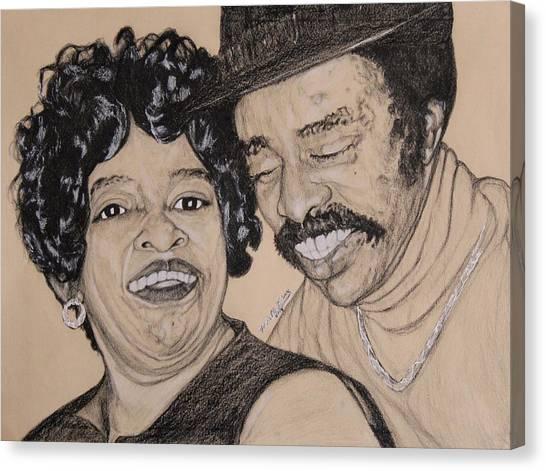 Jb  Wg Portrait Canvas Print