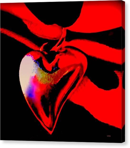 Je T'aime A La  Folie  - Valentine   Dedicated Canvas Print