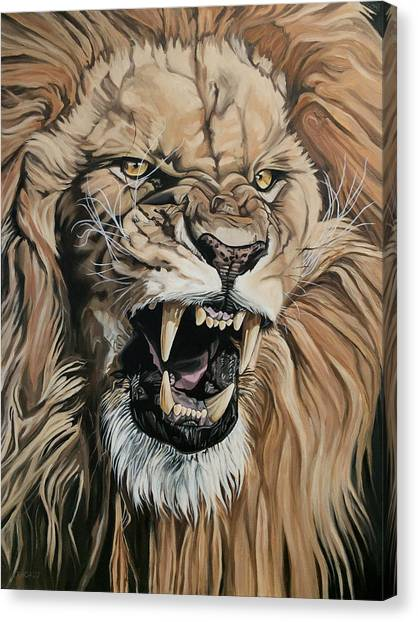 Jealous Roar Canvas Print