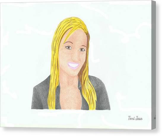Jeana Smith - Pvp Canvas Print