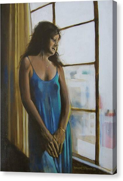 Jeanette Canvas Print by Howard Stroman