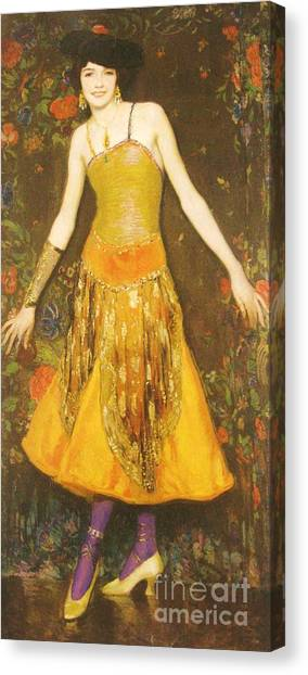 Print On Canvas Print - Jeanne Cartier by Pg Reproductions
