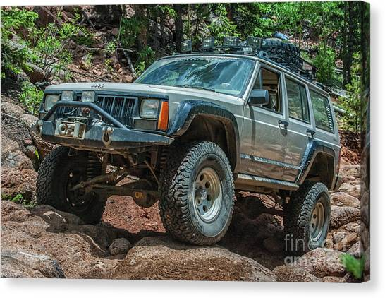 Jeep Cherokee Canvas Print