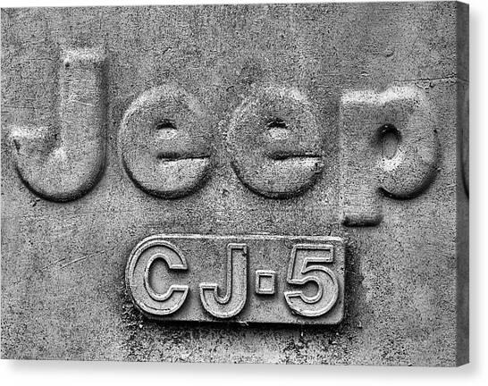 Gumbo Canvas Print - Jeep Cj-5 by JC Findley