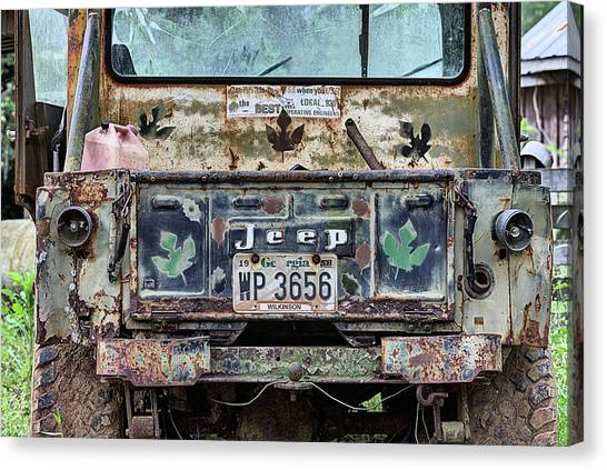 Gumbo Canvas Print - Jeep Made To Last by JC Findley