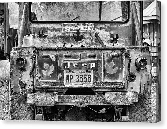 Gumbo Canvas Print - Jeep Strong by JC Findley