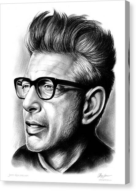 Independence Day Canvas Print - Jeff Goldblum by Greg Joens