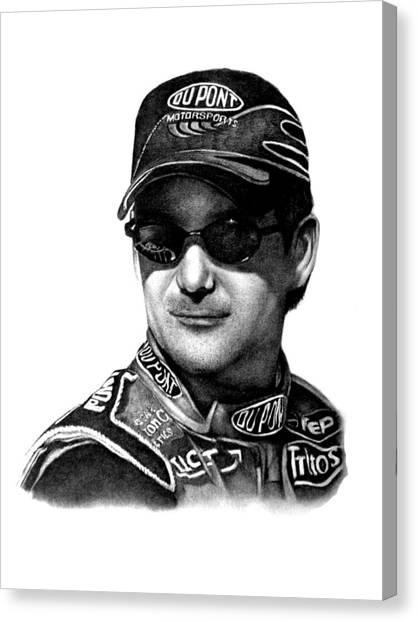 Jeff Gordon Canvas Print - Jeff Gordon by Patrick Payton