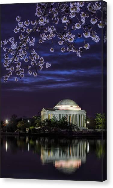 Jefferson Cherry Sunrise Canvas Print