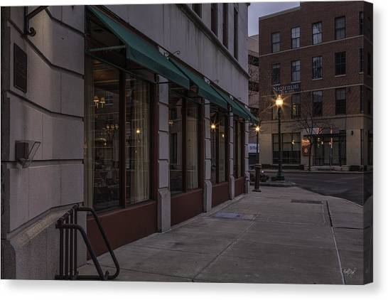 Syracuse University Canvas Print - Jefferson Clinton Hotel by Everet Regal