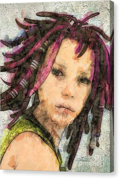 Jehanne Canvas Print