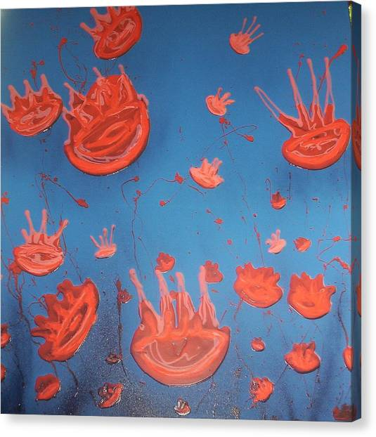 Canvas Print - Jelly Fish by Joan Stratton