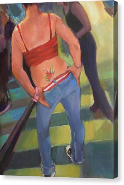 Jen Canvas Print by Merle Keller