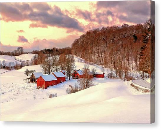 Jenne Farm After The Storm Canvas Print