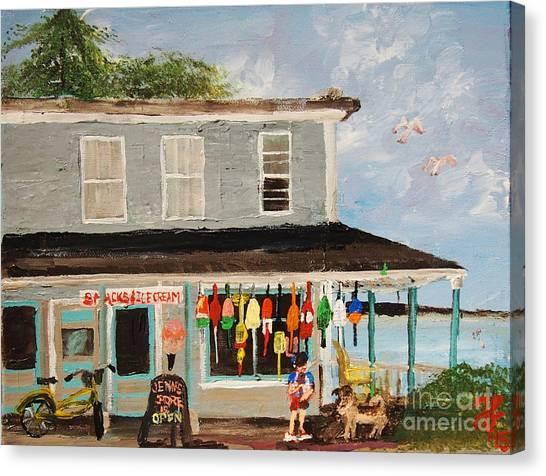 Jenn's Store Canvas Print