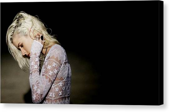 Rulers Canvas Print - Jenny Parry by Maye Loeser
