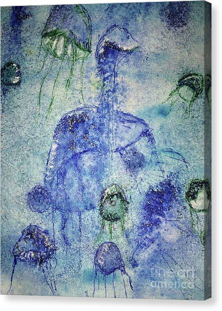 Jellyfish II Canvas Print