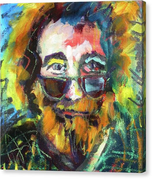 Jerry Garcia Canvas Print