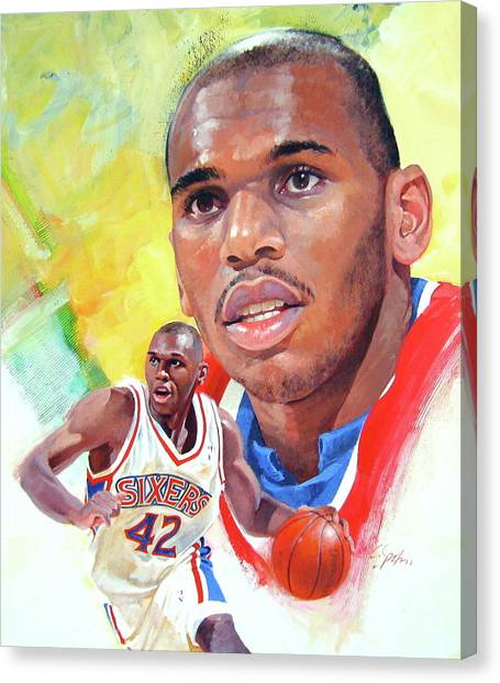 Jerry Stackhouse Canvas Print