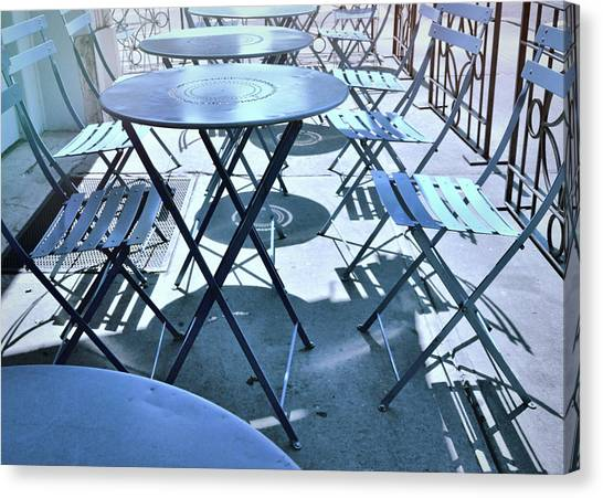 Jersey City Cafe Canvas Print by JAMART Photography