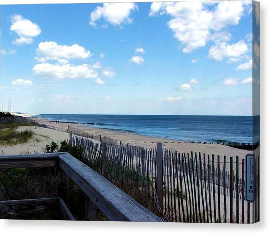 Jersey Shore Canvas Print