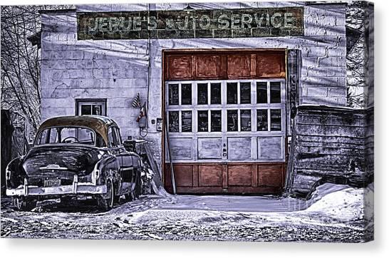 Jerues Auto Service Canvas Print
