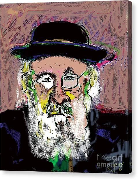 Jerusalem Man No. 2 Canvas Print by Joyce Goldin