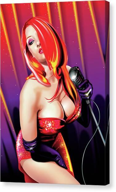 Jessica V2 New Canvas Print