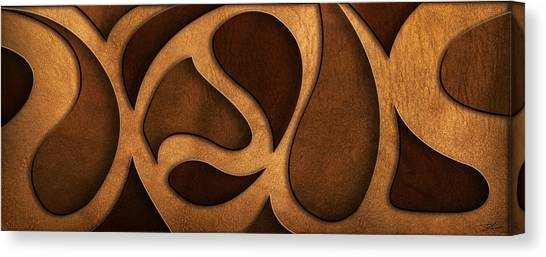 Jesus - Rustic Abstract Canvas Print