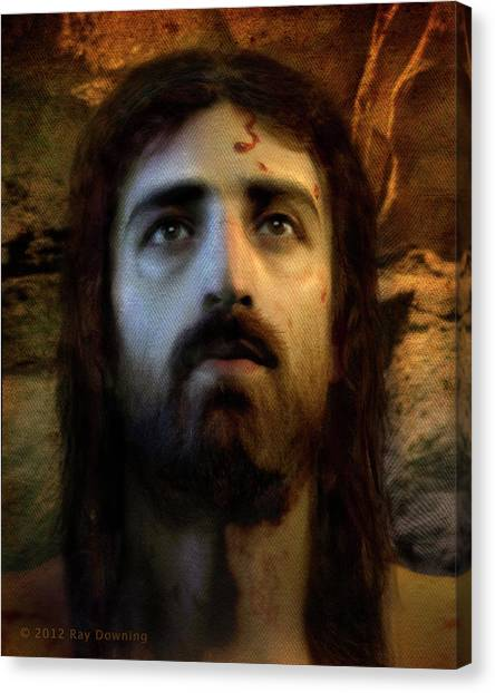 History Canvas Print - Jesus Alive Again by Ray Downing