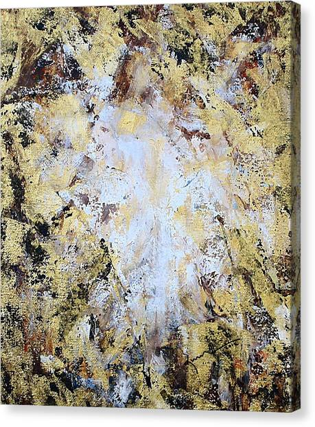 Jesus In Disguise Canvas Print