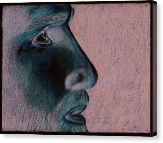 Jesus Canvas Print by Jason McRoberts